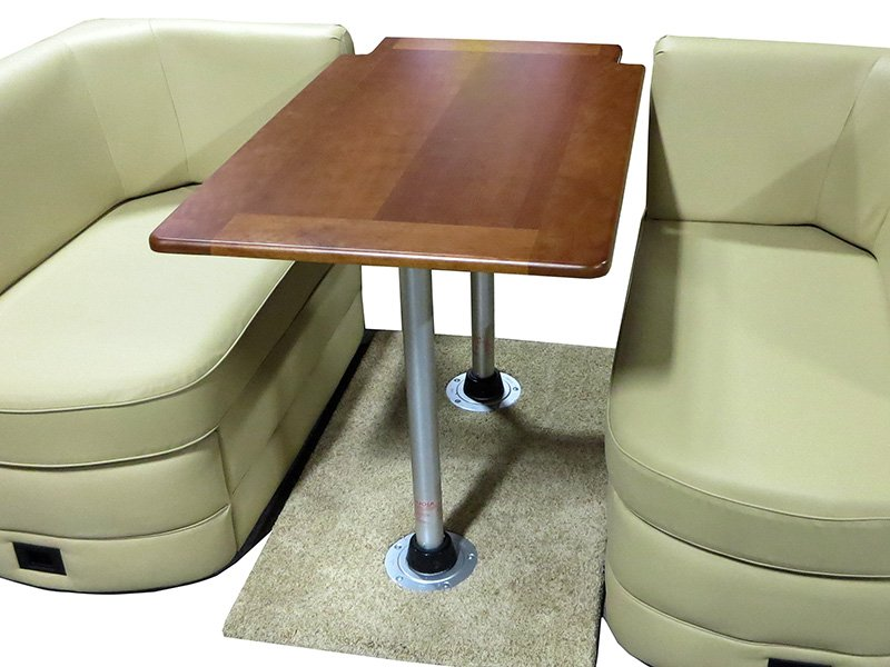 Rv and marine dinette table